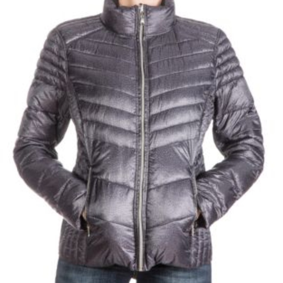 Guess Jackets & Blazers - Guess Packable REVERSIBLE Puffer - XL - Blk/Grey